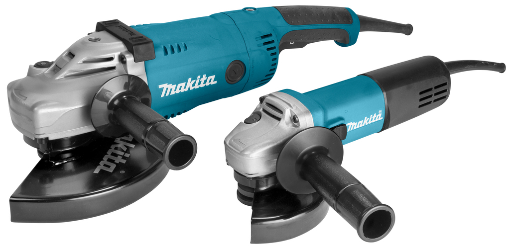 Makita DK0054GZ Populaire 230 V haakse slijperset 125/230 mm GA9020R,M 9558HNRG doos
