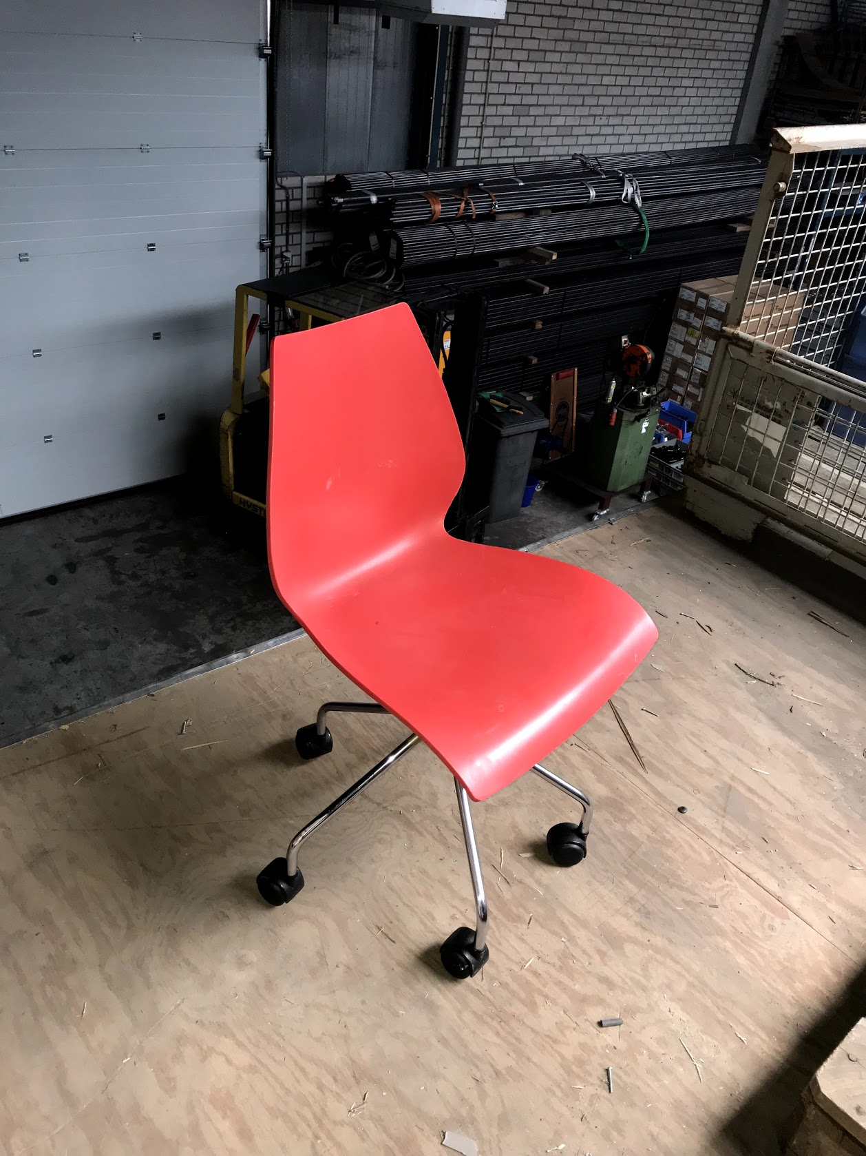 Bureaustoel rood